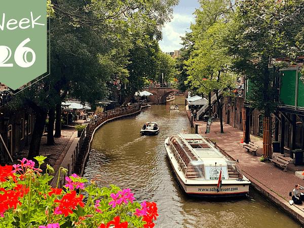 Week 26; Editen, Zomerdekbed, Reservekopie, Top Werkdag, Vissen en Shoppen in Utrecht!