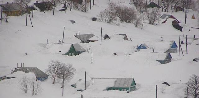 Resultado de la imagen para Oymyakón, el lugar más frío del planeta