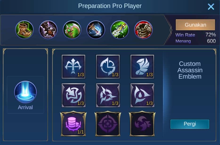 build item masha mobile legends (ML)