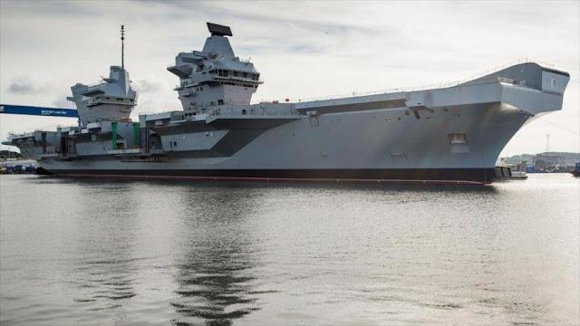 Reino Unido muestra músculo a Rusia y China en el Pacífico