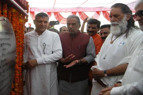 भ्रष्टाचार रूपी पाप से दूर रहते हैं राजनीती में आने वाले धार्मिक लोग, कृष्णपाल गुर्जर