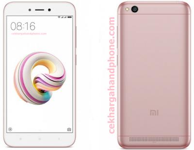 Handphone Murah Xiaomi Redmi 5A Dirilis