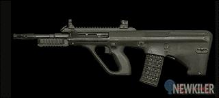 AUG Senjata Supply Drop PUBG Mobile