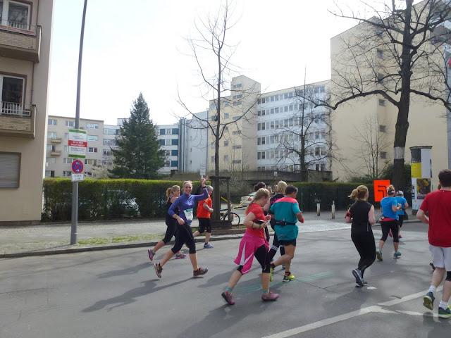 Halbmarathon zwischen km 10 und km 11