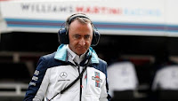 Paddy Lowe Williams Martini Racing Grand Prix Chin 2018