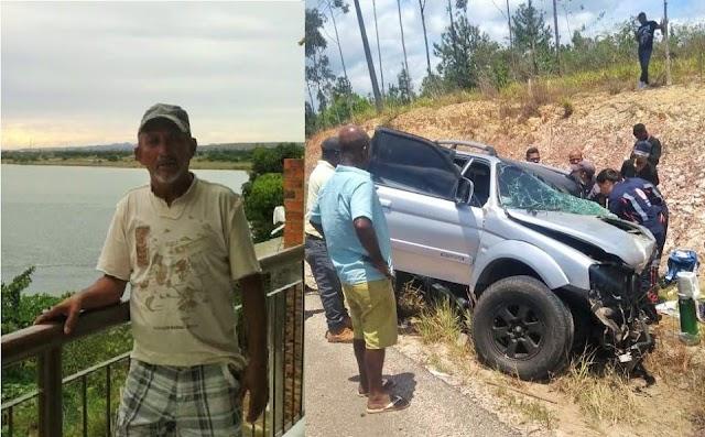 Funcionário da Prefeitura de Simões Filho morre em grave acidente em Camaçari na Cetrel.