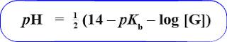 Rumus menghitung pH hidrolisis garam asam