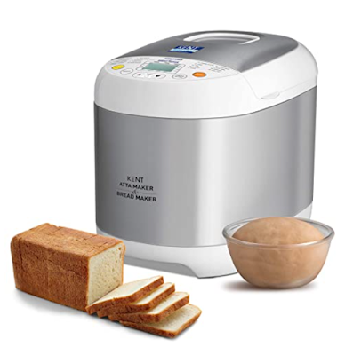 KENT - 16010 Atta and Bread Maker with 19 Amazing Programmed Menus and Fully-Automatic Operation