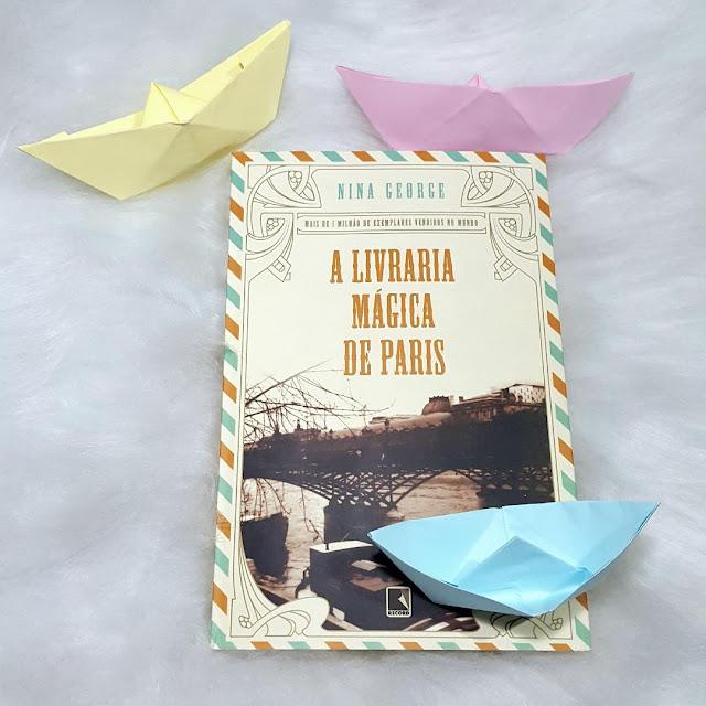 Livro A Livraria Mágica de Paris - resenha