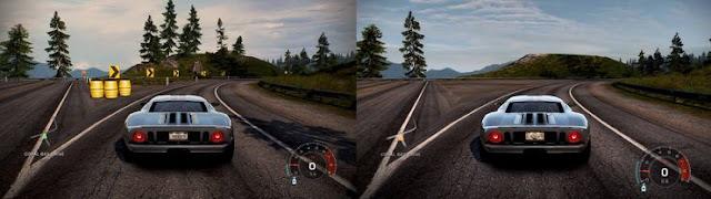 بالصور الكشف عن مقارنة الرسومات بين لعبة Need for Speed Hot Pursuit النسخة الأصلية و الإصدار المحسن