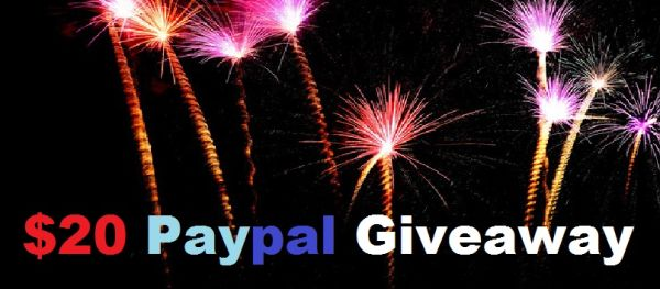 $20 Paypal giveaway
