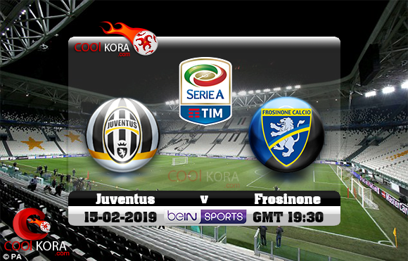 مشاهدة مباراة يوفنتوس وفروسينوني اليوم 15-2-2019 في الدوري الإيطالي