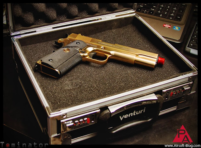 air venturi small aluminum pisol case, airsoft gun case, airsoft reviews, modern warfare 3, mw3, battlefield 3, BF3, Pyramyd Airsoft Blog, Tom Harris Media, Tominator,