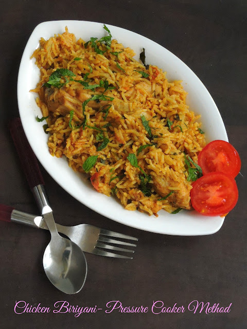Chicken Biriyani, One pot meal Biriyani