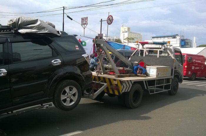jasa towing Surabaya - Flores