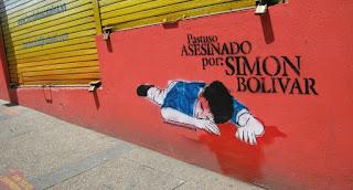 Pastuso asesinado por: Simón Bolívar (Colombia)