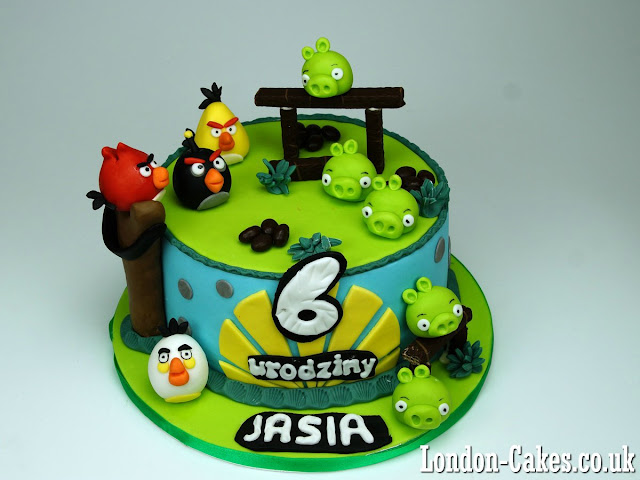 Children Cakes Angry Birds London