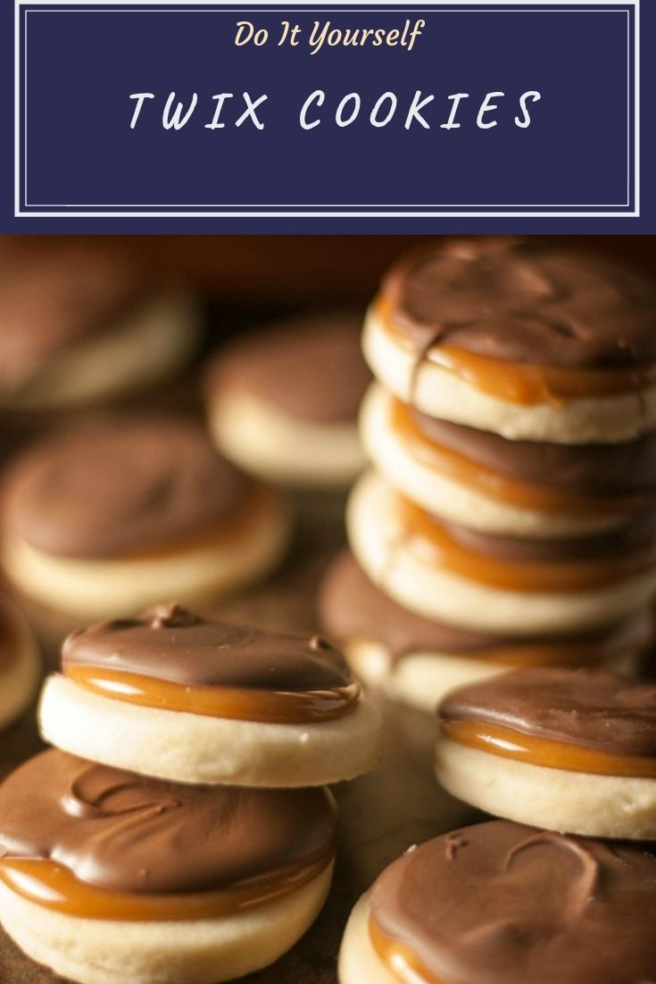 What's your favorite candy bar? If the answer is Twix, you are going to love this TWIX Cookies recipe! Must check out!