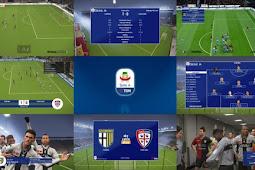 TIM Serie A Scoreboard Sky Sport & DAZN Italy - PES 2019