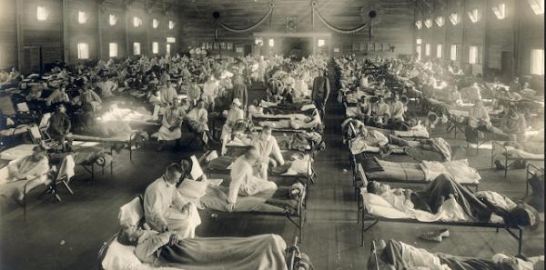 Padre Pio, Flu Spanyol