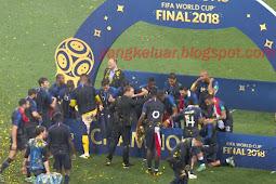 Pemenang Juara Piala Dunia 2018 Tadi Malam Perancis vs Kroasia