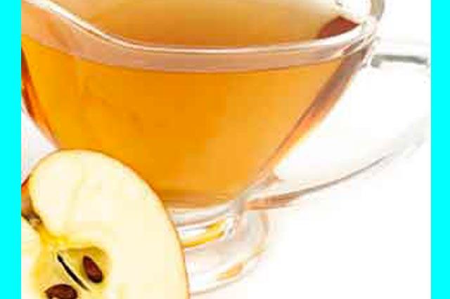 علاج منزلي  للقشرة بخل التفاح