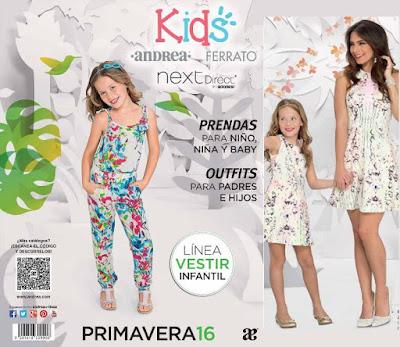 Ropa Andrea Kids Niñas Prima 2016