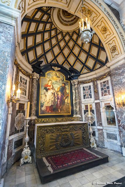 Regreso de la Sagrada Familia, Rubens en S.Carlos Borromeo - Amberes por El Guisante Verde Project