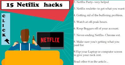 helpful Netflix Hacks