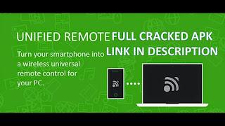 تحميل تطبيق Unified Remote Full 3.13.0.apk تطبيق التحكم عن بعد لجهاز الكمبيوتر الخاص بك