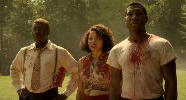 Jonathan Majors, Jurnee Smollett-Bell, Courtney B. Vance en 'Territorio Lovecraft'