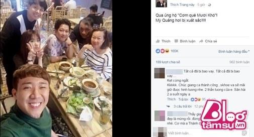 Đi ăn quán Trường Giang mới mở về, Trấn Thành – Hari Won liền nhận xét choáng - 3