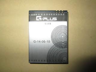 Baterai Hape Outdoor Gplus G168 Android Original