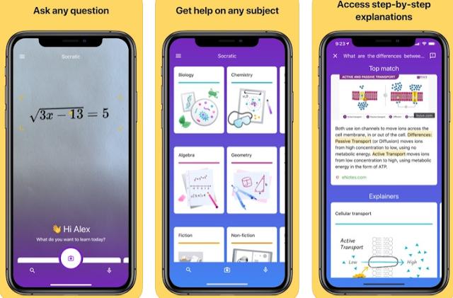 تطبيق Socratic هو أداة دراسة الذكاء الاصطناعي من Google لطلاب المدارس