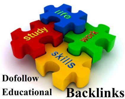 Educational Dofollow Backlinks