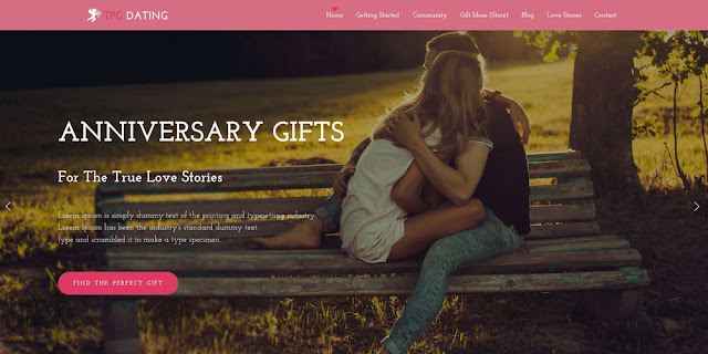 Dating WordPress Theme