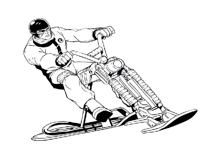 Action Man Coloring Pages