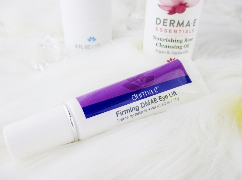 My Favorite Drugstore Winter Complexion Care for Dry and Mature Skin from Derma-E Firming DMAE Eye Lift