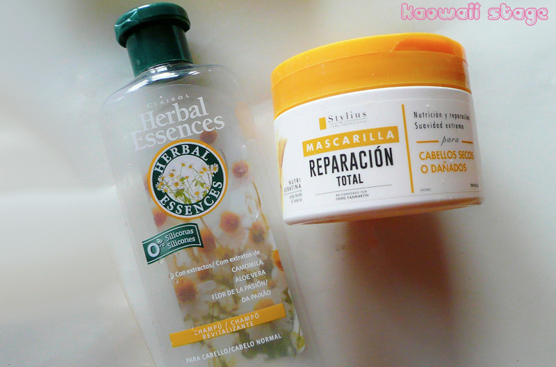 herbal essence mascarilla deliplus