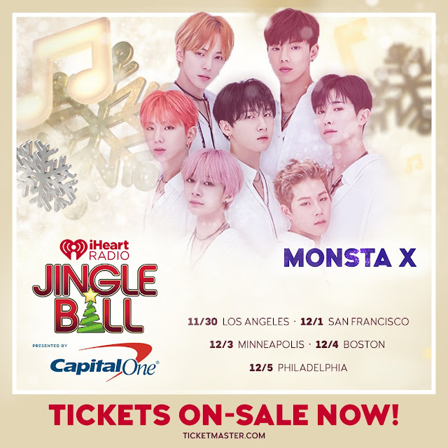 Monsta X Jingle Ball