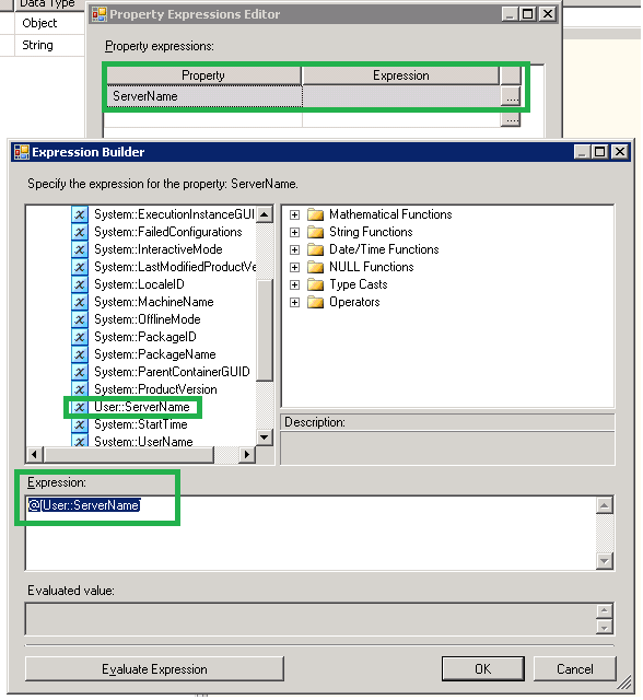 Looping through SQL Servers using SSIS or Dynamically build