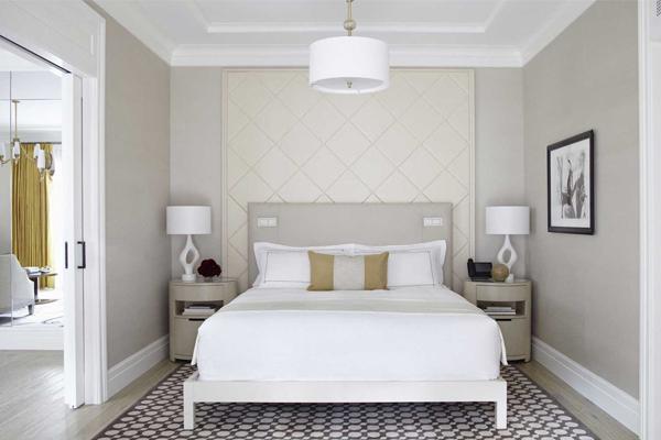 Thiết kế phòng ngủ với tông màu sáng
