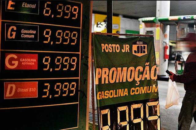 Postos sobem preço dos combustíveis e margem de revenda dispara