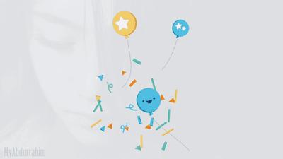 Balon, Balloon, text delight, selamat, congrats