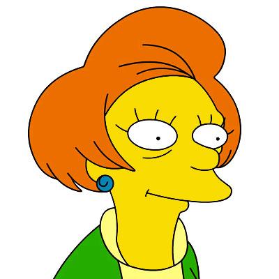 Los Simpson Personaje Edna Krabappel