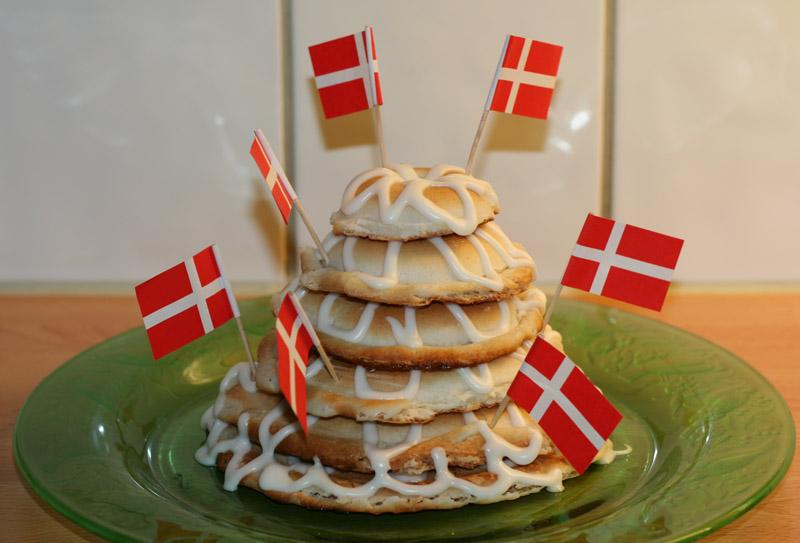 födelsedag på danska Mor Annikas Bästa: Kransekage födelsedag på danska