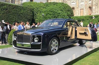 Mobil Mahal Rolls Royce Swptail