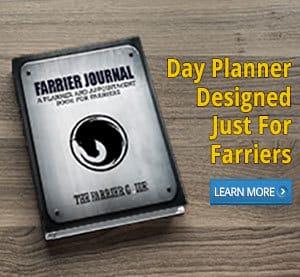 farrier journal day planner
