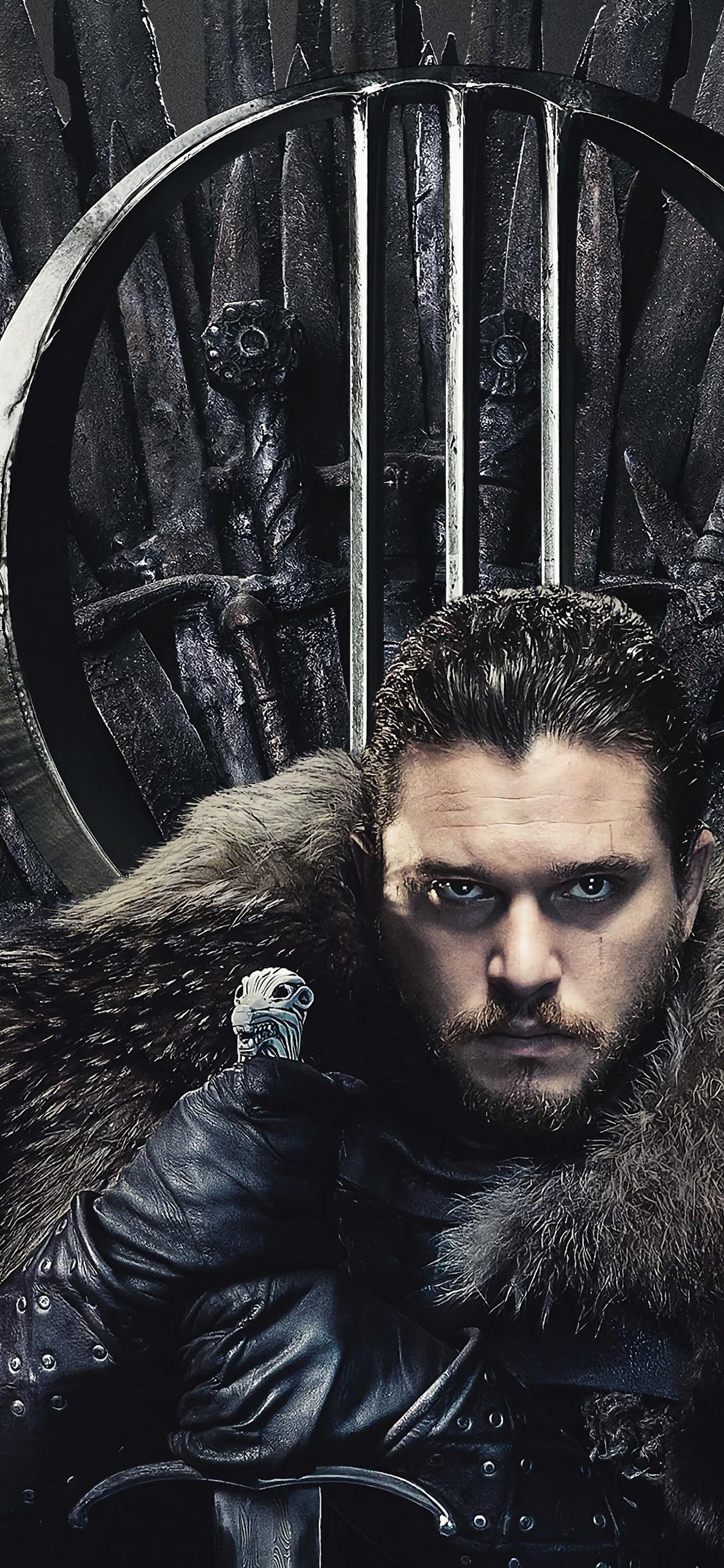 Jon Snow Game Of Thrones Season 8 4k Wallpaper 30