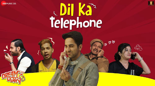Dil Ka Telephone Lyrics - Dream Girl -  Ayushmann Khurrana